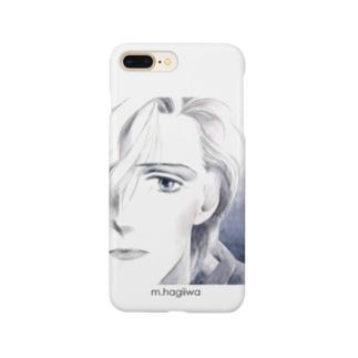 スマホケース スコット 白 Smartphone cases