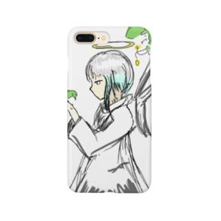小鳥と少女 Smartphone cases