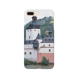 ドイツ:プファルツ城 Germany: Pfalzgrafenstein am Rhein Smartphone cases