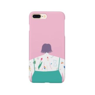 タトゥー ピンク Smartphone Case