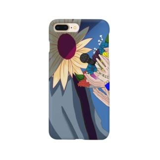 向日葵人間さん Smartphone cases