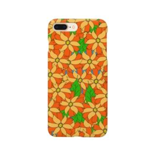 riekim オレンジ Smartphone cases