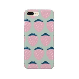 ポップなイチゴMNT Smartphone cases