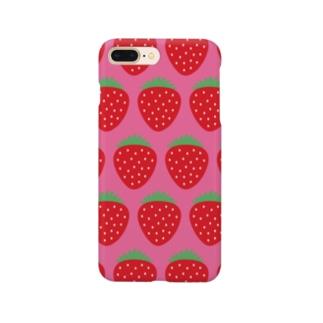 ポップなイチゴDKPK Smartphone cases