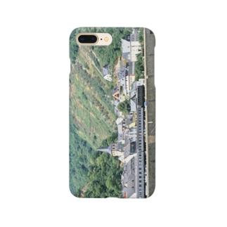 FUCHSGOLDのドイツ:ライン河畔の風景写真 Germany: Riverside view of rhein Smartphone cases