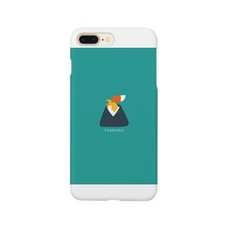 きつね てんむす Smartphone cases
