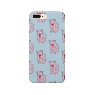 猫のランディ スマホケース Smartphone cases