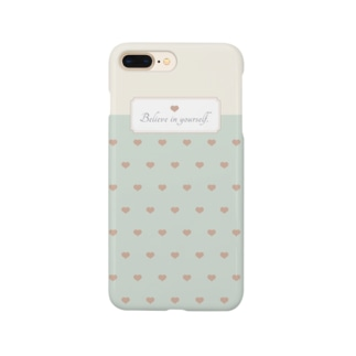 ファンシー/グリーン Smartphone cases