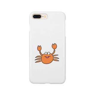 かに 蟹  Smartphone cases