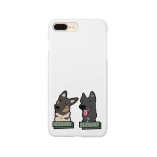 うちの子1番☆〜ポリーちゃん&ディーヴァちゃん〜 Smartphone cases