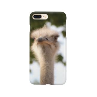 ダチョウ Smartphone cases