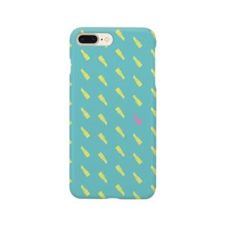 リップ/口紅/グリーン Smartphone Case