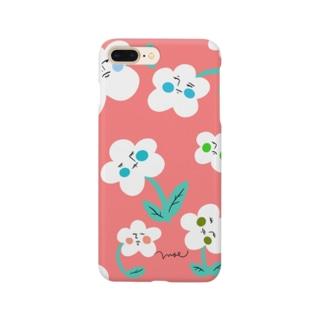 いびつなお花 Smartphone cases