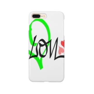 レモン 💚ラブ Smartphone cases