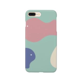 三びきのお魚🐠🐟🐡 Smartphone cases