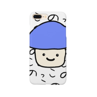 きのこののっこさん Smartphone cases