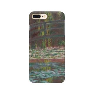 クロード・モネ 「睡蓮の池」 印象派 絵画プリント Smartphone cases