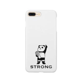 パンダプロレス チャンピオン Smartphone cases