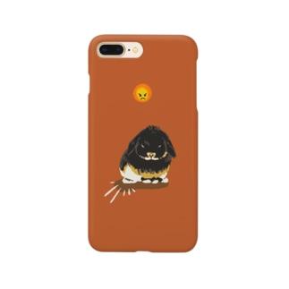 おこげの怒り Smartphone cases