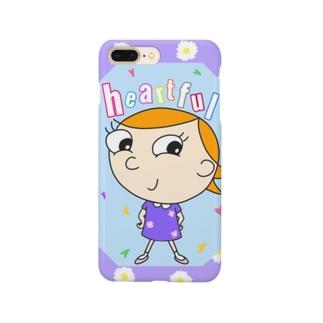 Charlie ハートフル Smartphone cases
