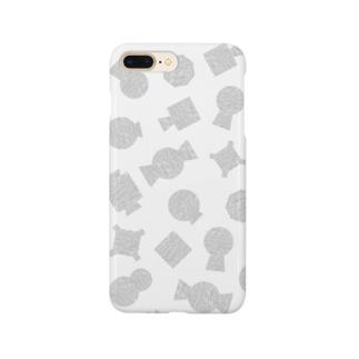 古墳(タオル地・総柄) Smartphone cases