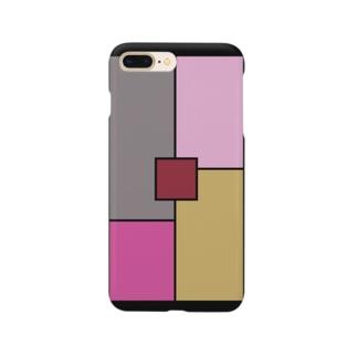 シンプル/ピンク Smartphone Case