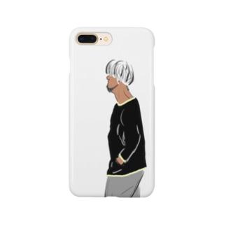マッシュな男 Smartphone cases