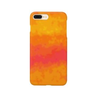 オレンジ色 Smartphone cases