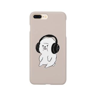 ギュッギュッ!!ビションフリーゼ Smartphone cases