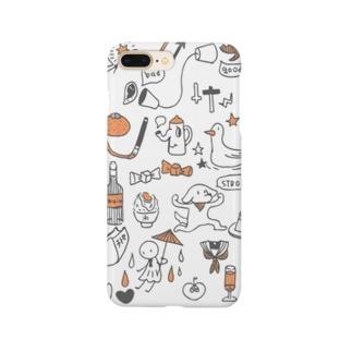 らくがき1 Smartphone cases