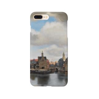 フェルメール / 『デルフト眺望』1660年-61年 Smartphone cases