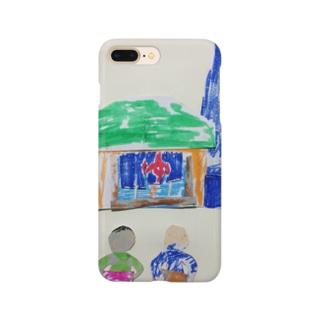 夢で見た銭湯 Smartphone cases