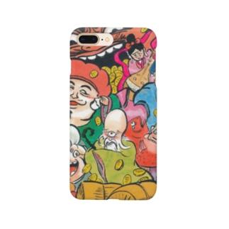 化け七福神 Smartphone cases