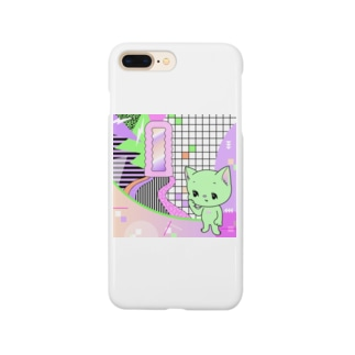 What is cute? メロンクリーム猫さん Smartphone cases