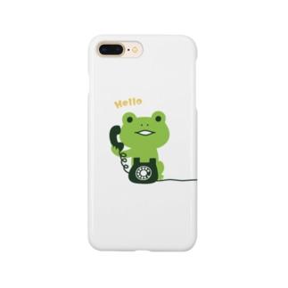 かえるコール Smartphone cases