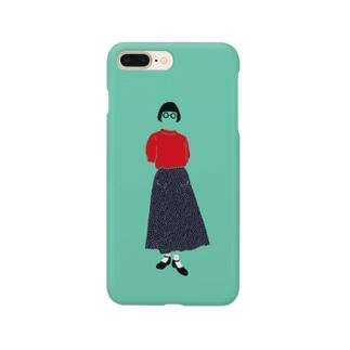 赤いサマーセーター Smartphone cases