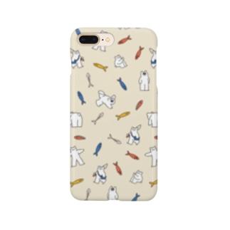 ねこパターン Smartphone cases