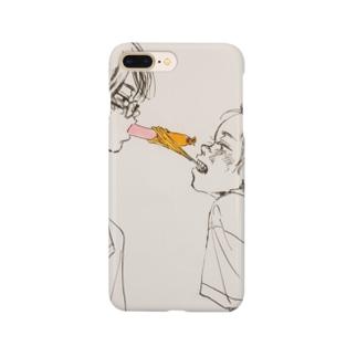 munimuの魚肉ソーセージ Smartphone cases