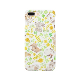 flower rabbit Smartphone cases