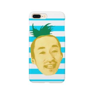 サティパイナポヘアシリーズ bikke作成 Smartphone cases