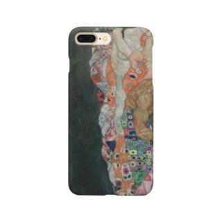 グスタフ・クリムト(Gustav Klimt) / 『死と生』(1915年) Smartphone cases