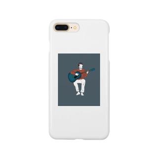 弾き語りの男の子 Smartphone cases
