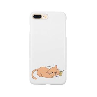 ぴぇん猫 Smartphone cases