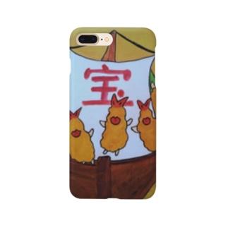 エビフライの宝船 Smartphone cases