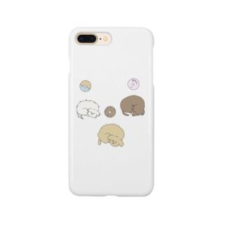 いぬとどーなつ Smartphone cases