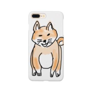 柴犬(おすわり) Smartphone cases