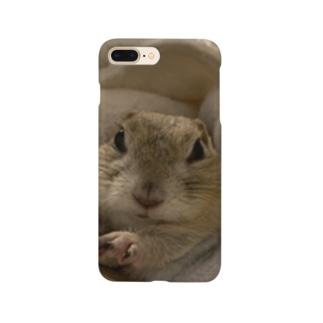 ちょっぴり不機嫌きなこ様 Smartphone cases