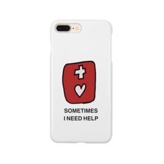 HELPマーク Smartphone cases