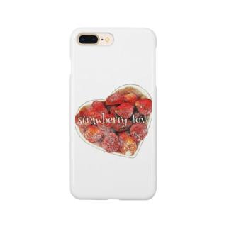 strawberry love Smartphone cases