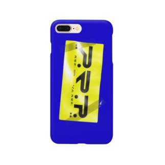 スマホステッカー_黄青 Smartphone cases